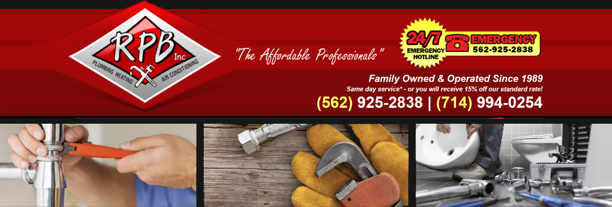 RPB Inc. is YOUR Affordable Professionals, Call Us Today!